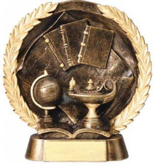 Knowledge Trophy 7 1/2 Inch