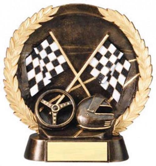 Racing Trophy 7 1/2 Inch