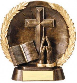 Religion Trophy 7 1/2 Inch