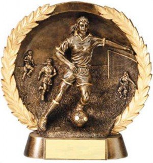 Female Soccer Trophy 7 1/2 Inch