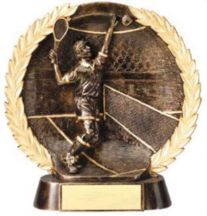 Male Tennis Trophy 7 1/2 Inch