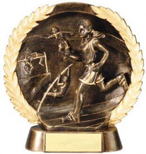 Female Track Trophy 7 1/2 Inch