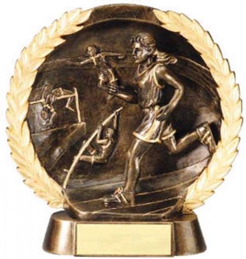 Female Track Trophy 7 1/2 Inch