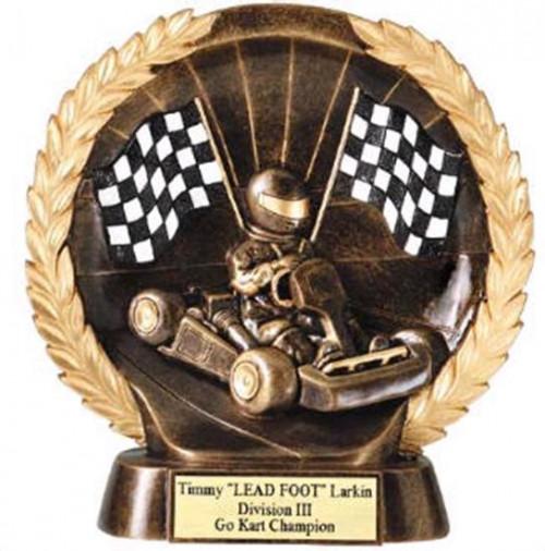 Go-Kart Trophy 7 1/2 Inch