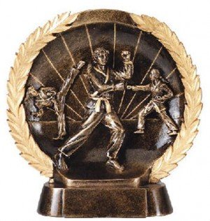 Female Karate Trophy 7 1/2 Inch