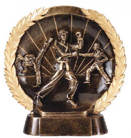 Female Karate Trophy 7 1/2 Inch