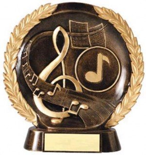Music Trophy 7 1/2 Inch