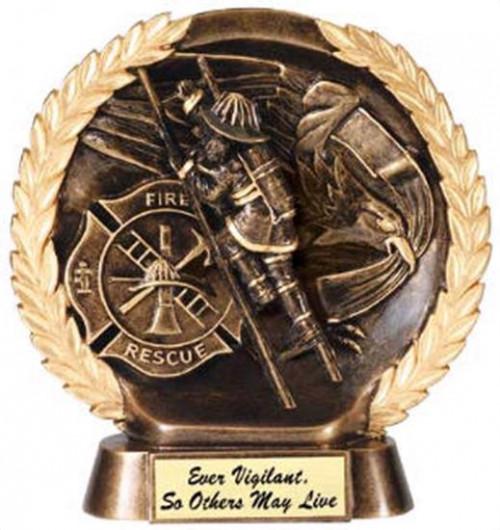 Fireman Trophy 7 1/2 Inch