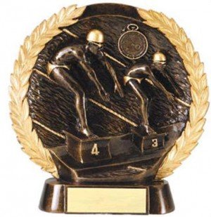 Male Swimming Trophy 7 1/2 Inch