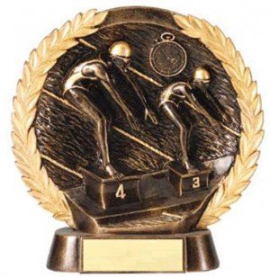 Female Swimming Trophy 7 1/2 Inch