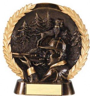 Hunting Trophy 7 1/2 Inch