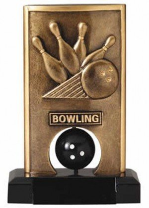 Bowling Spinning Trophy