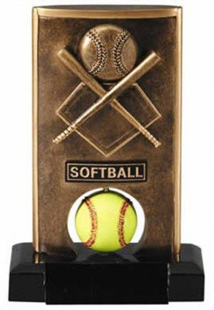 Softball Spinning Trophy