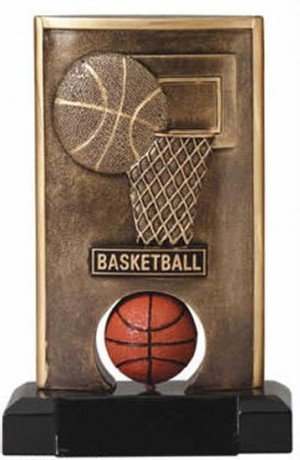 Basketball Spinning Trophy