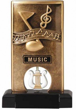 Music Spinning Trophy