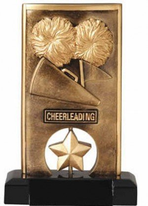 Cheerleading Spinning Trophy