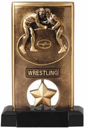 Wrestling Spinning Trophy