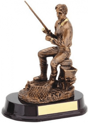Fisherman Bronze Trophy