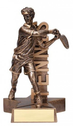 Male Tennis player Billboard Trophy