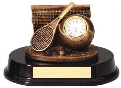 Tennis Clock Trophy