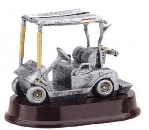 Golf Cart Trophy