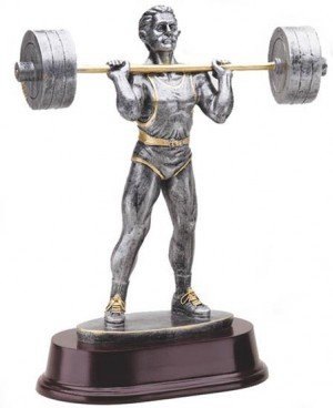 Body Builder Press Trophy