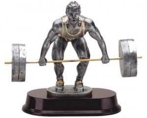 Body Builder Lift Trophy