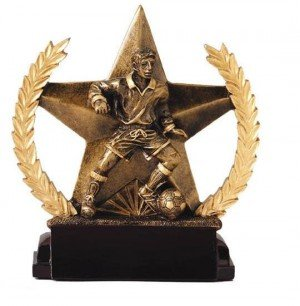 Male Soccer Star Trophy