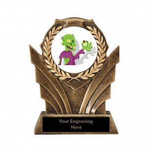 Halloween Most Creative Costume Victory Resin Trophy