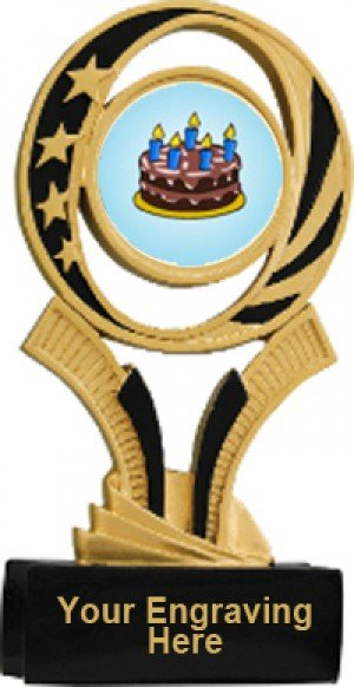 Cake Decorating Midnite Star Resin Trophy