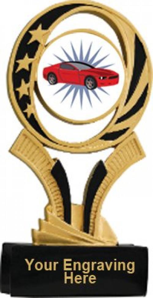 Racing Midnite Star Resin Trophy