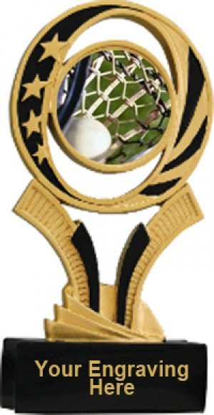 Lacrosse Midnite Star Resin Trophy