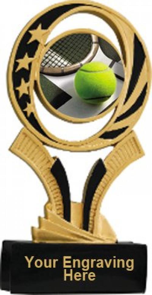 Tennis Midnite Star Resin Trophy