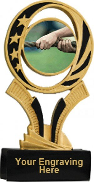 Tug of War Midnite Star Resin Trophy