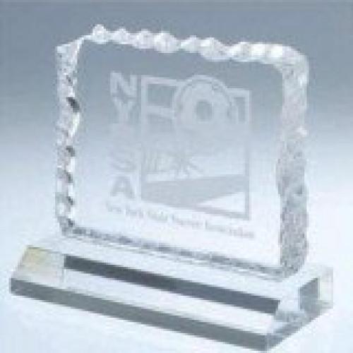 Acrylic Cracked Ice Award