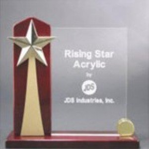 Rising Star Acrylic Award