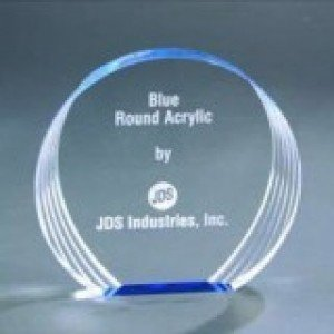 Free Standing Round Acrylic Award