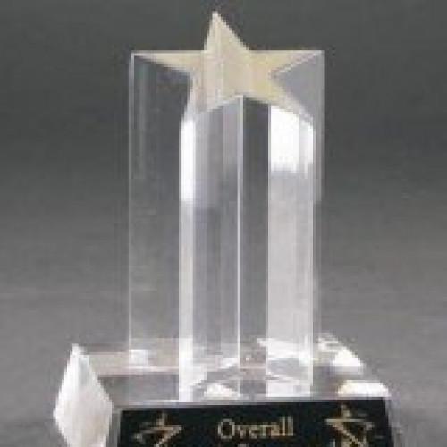 Acrylic Star Column 5 Inch