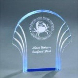 Self Standing Acrylic Shell Award