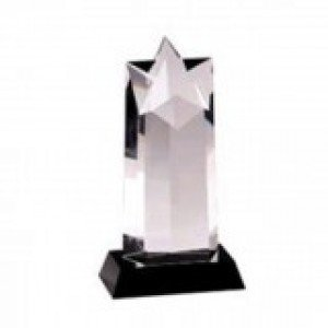 Star Black Pedestal Crystal