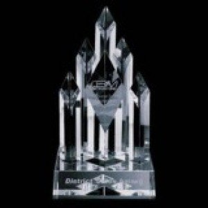 Crystal Diamond Pillar Award