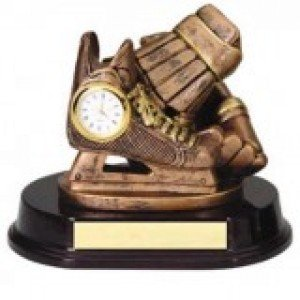 Hockey Clock Trophy