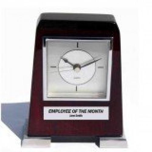 Standing Silver Clock