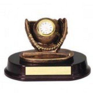 Baseball Clock Trophy