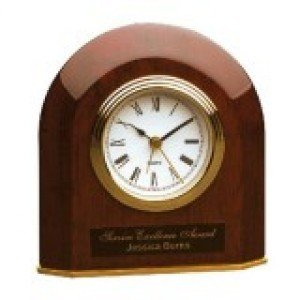 Piano Finish Arched Clock