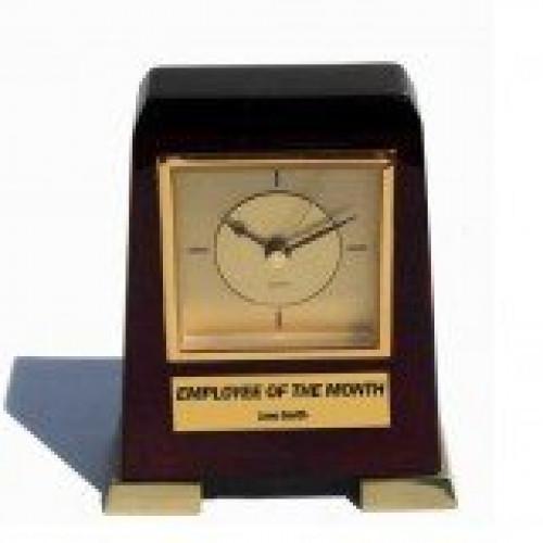 Standing Gold Clock
