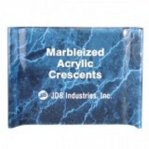 Blue Marble Acrylic Crescent Award