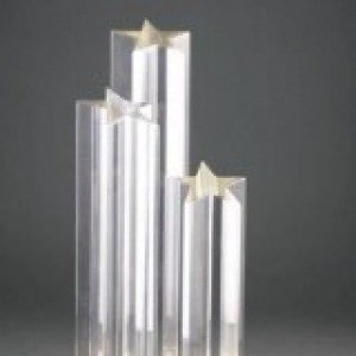 Acrylic Triple Star Award
