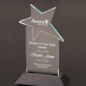 Crystal Star Acrylic Award