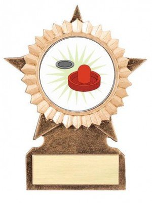 Air Hockey Star Stand Trophy